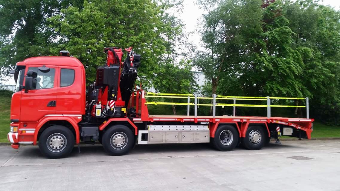 hiab lorry hire sussex