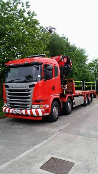 Hiab Lorry Loader